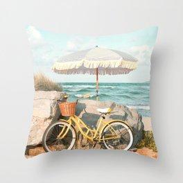 Coronado Beach Throw Pillow