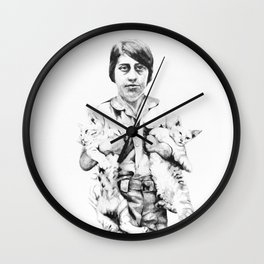 We never wanted you Wall Clock