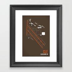 CLE Framed Art Print
