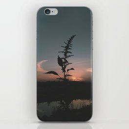 Sunset[ The Lake], Africa iPhone Skin