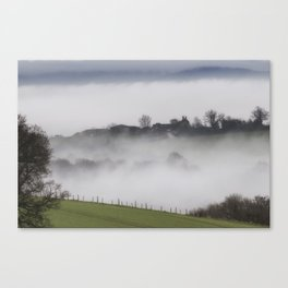 The Farm House Beyond Canvas Print