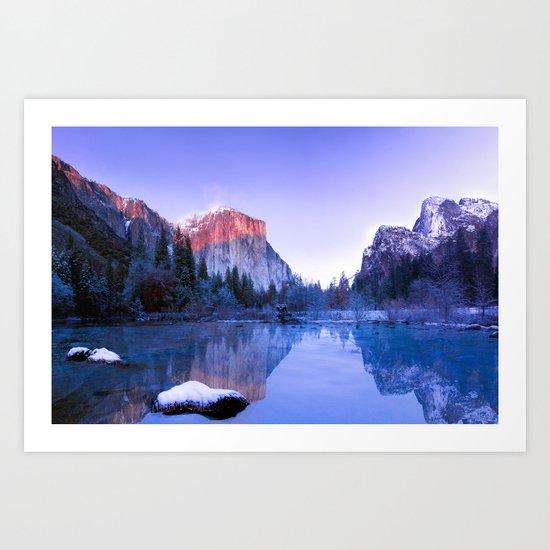 Lake Landscape #photography #society6 #photography Art Print