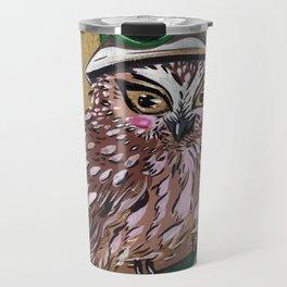 Croquet Owl Travel Mug