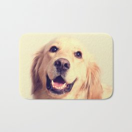 Home Is Where Your Golden Is Bath Mat