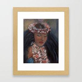 Hula Dance IV Framed Art Print
