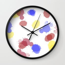 Taches Wall Clock