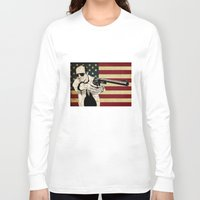 hunter s thompson Long Sleeve T-shirts featuring Hunter S. Thompson by Ignacio Pulido