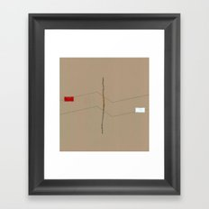 Linear Nature 6 Framed Art Print