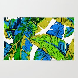 BANANA PALM LEAF PARADISE Rug