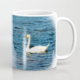 Two Mute Swans Coffee Mug