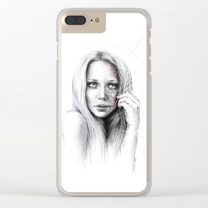 Self-destruction: expose Clear iPhone Case