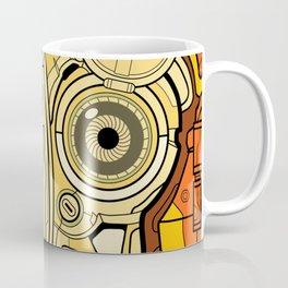 Mech Mandala Robot Coffee Mug