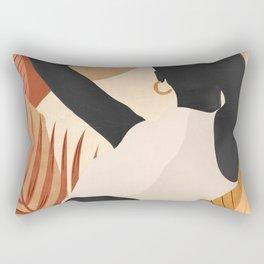 Tropical Girl 23/2 Rectangular Pillow