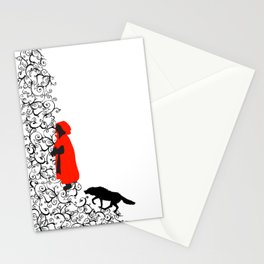 Little Red Stationery Cards