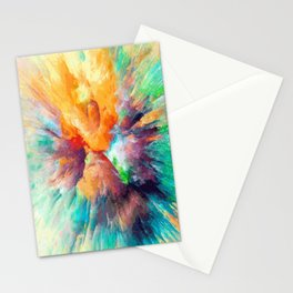 Multi color abstarct #society6 Stationery Cards