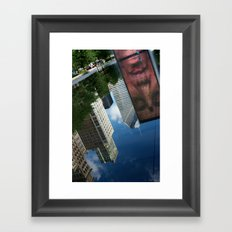 'Reflections of Chicago' Framed Art Print