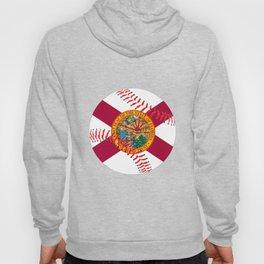 Florida Flag Baseball Hoody