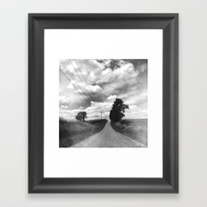 Back Road Adventure Framed Art Print