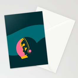 Astronauts need personal space too Stationery Cards