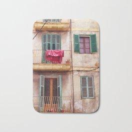 Mallorca house with balconies Bath Mat