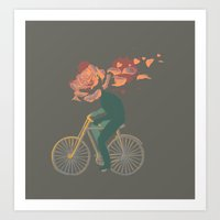 yowamushi pedal Art Prints featuring Pedal by Hello Heart