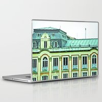 political Laptop & iPad Skins featuring Political building. by Alejandra Triana Muñoz (Alejandra Sweet