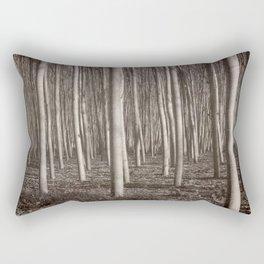 """Straight trees"" Rectangular Pillow"
