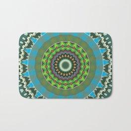 Basal Color Mandala 7 Bath Mat
