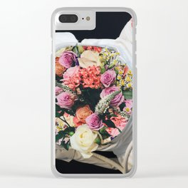 SPACE BOUQUET Clear iPhone Case