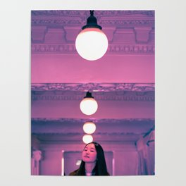 Pop Girl Light Poster