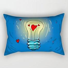 Lamp of love Rectangular Pillow