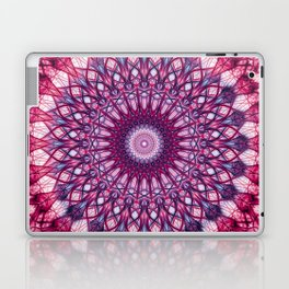 Pink and violet mandala Laptop & iPad Skin