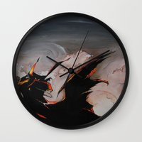 spawn Wall Clocks featuring Spawn by mfrioni