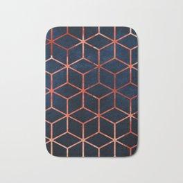 Cubic Pattern Bath Mat