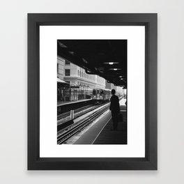 Chicago - Businessman Framed Art Print