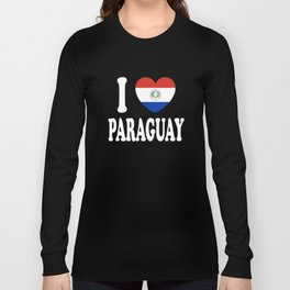 I Love Paraguay Long Sleeve T-shirt