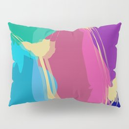 Jelly Candy With Gold Sauce Abstract Art Pillow Sham