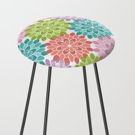 Colorful Summer Counter Stool