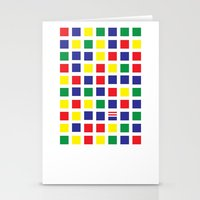 waldo Stationery Cards featuring Square's Waldo by Jonah Makes Artstuff