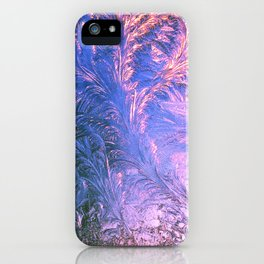 Ice Fractals iPhone Case
