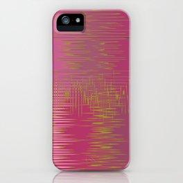 Pink Gold Design iPhone Case