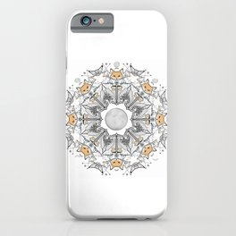 Pacific Mandala iPhone Case