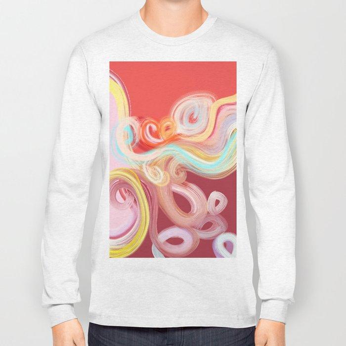 vibrant sea Long Sleeve T-shirt