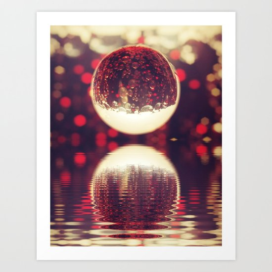 Cola World. Art Print