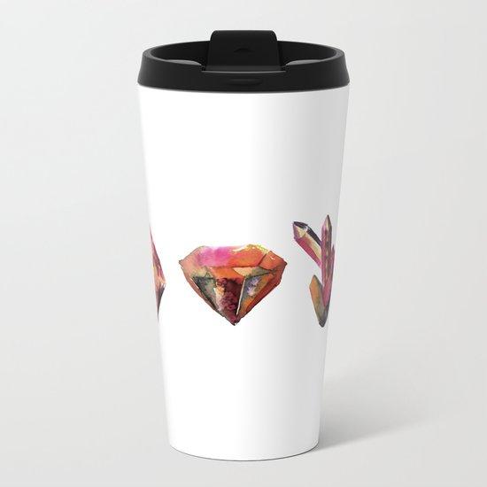 Celestine Geo Metal Travel Mug