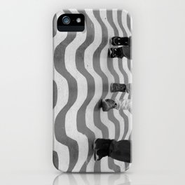 STEPS ON THE STREET iPhone Case