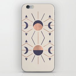 Moon and Light Rosè Version iPhone Skin