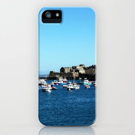 Boats & The Castle iPhone Case