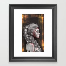 Blood & Honey Framed Art Print
