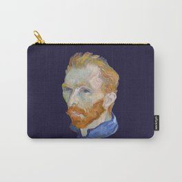 Vincent Van Gogh Self Portrait - Artwork for Wall Art, Prints, Posters, Tshirts, Men, Women, Kids Carry-All Pouch